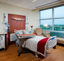 West Chester Hospital Patient Room