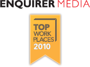 Equirer Media Top Work Places 2010